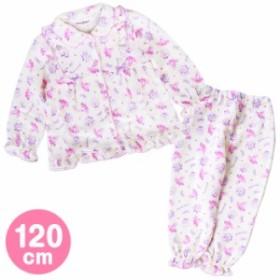 ぼんぼんりぼん キルトパジャマ 上下セット 長袖 部屋着 リボン 120cm☆サンリオ キッズ秋冬ファッションシリーズ