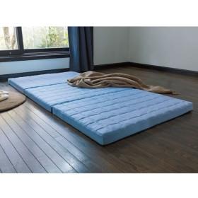 セミダブル(除湿・軽量・寝心地にこだわった3つ折バランス硬質マットレス 厚さ6cm) 688602
