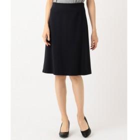any FAM / エニィファム 【セレモニー】グログラン&ツイードジャージー スカート