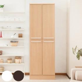 食器棚 キッチンストッカー 北欧風 大容量 収納庫 Face 幅60cm ( キッチン収納 収納 キッチンボード ストッカー )