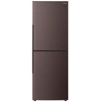 SJ-PD28E-T 冷蔵庫 ブラウン系 [2ドア /右開きタイプ /280L]