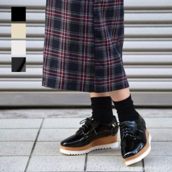 厚底ブーツ - NOFALL スクエアトゥマニッシュシューズ 靴 シューズ レディース マニッシュ 可愛い オシャレ 韓国風 厚底 歩きやすい 疲れにくい 黒 ブラック ベージュ ホワイト 軽量 NOFALL SANGO