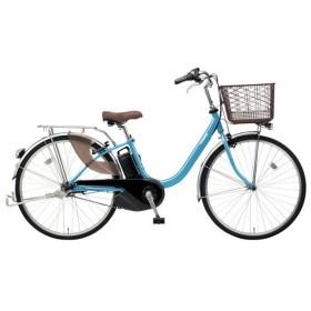 PANASONIC BE-ELL63-V ターコイズブルー ビビ・L [電動アシスト自転車(26インチ)] 電動自転車