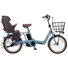 PANASONIC BE-ELAS03-V2 マットブルーグレー ギュット・アニーズ・SX [電動アシスト自転車(20インチ)] 電動自転車