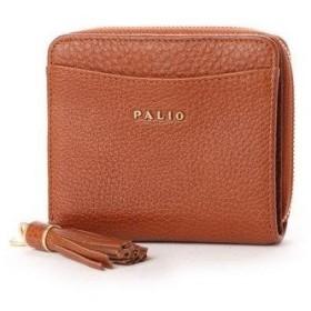 パリオ PALIO 【MORITA & Co.】二つ折り財布 (ブラウン)