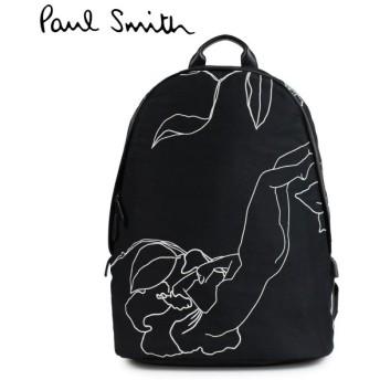 ポールスミス バックパック リュック メンズ レディース Paul Smith BACKPACK ブラック ASXC 4711 L838
