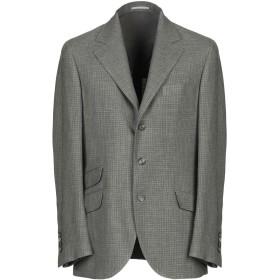 《期間限定セール開催中!》BRUNELLO CUCINELLI メンズ テーラードジャケット ミリタリーグリーン 48 ウール 66% / 麻 22% / シルク 12%