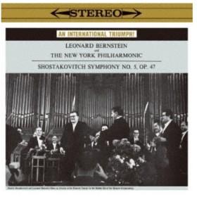 レナード・バーンスタイン/ショスタコーヴィチ:交響曲第5番(1959年録音) コープランド:ビリー・ザ・キッド《完全生産限定盤》 (初回限定....