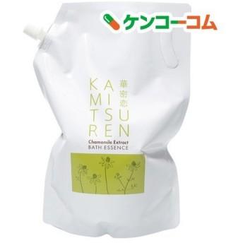 華密恋(カミツレン) 薬用入浴剤特大詰替え用 ( 1500m )/ 華密恋(カミツレン)