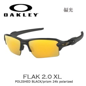 9c0de96f22c スポーツ サングラス アイウェア オークリー OAKLEY FLAK2.0 XL フラック2.0 XL POLISHED BLACK