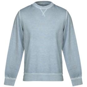 《期間限定 セール開催中》CIRCOLO 1901 メンズ スウェットシャツ ブルーグレー M コットン 100%