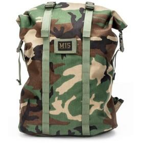 エムアイエス MIS Roll Up Backpack Woodland Camo