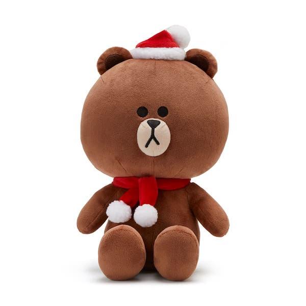 熊大 聖誕節裝扮玩偶