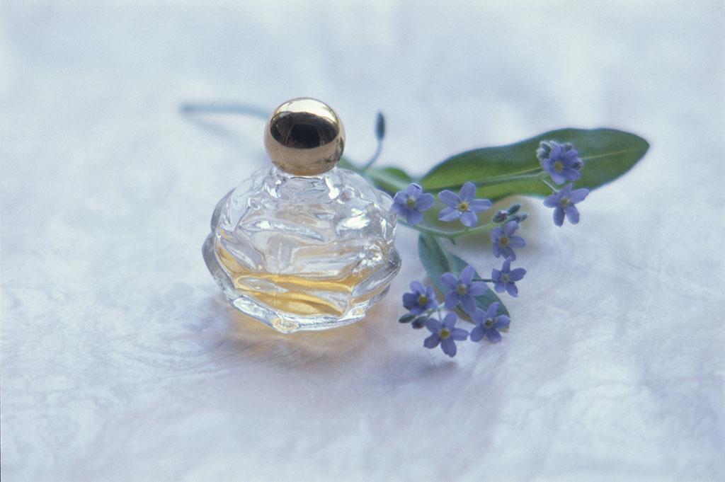 香水と忘れな草