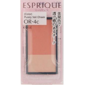 《コーセー》 エスプリーク ピュアリーベール チーク OR-4c オレンジ系 3.3g