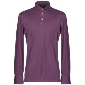 《期間限定セール開催中!》BRUNELLO CUCINELLI メンズ ポロシャツ パープル S コットン 100%
