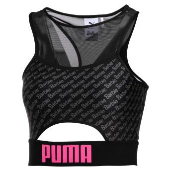 【プーマ公式通販】 プーマ PUMA x BARBIE WOMEN'S CROPTOP ウィメンズ Puma Black  CLOTHING PUMA.com