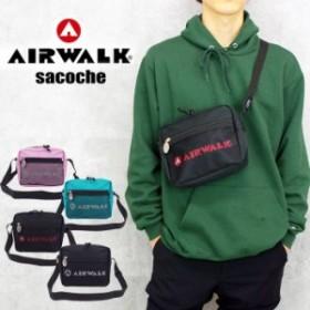 AIRWALK エアウォーク ショルダーバッグ メンズ 斜めがけ メンズ/レディース ミニショルダーバッグ 全4色 A18510