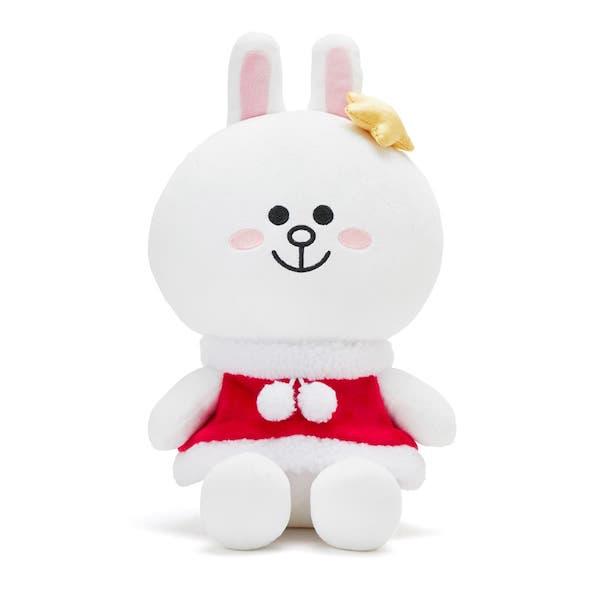 兔兔 聖誕節裝扮玩偶