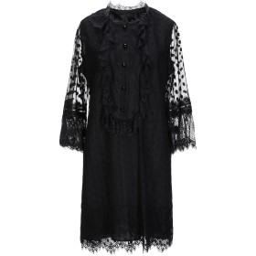 《期間限定 セール開催中》ANNA SUI レディース ミニワンピース&ドレス ブラック 6 ポリエステル 100%
