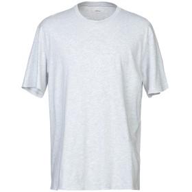 《期間限定 セール開催中》MAURO GRIFONI メンズ T シャツ ライトグレー L 100% コットン