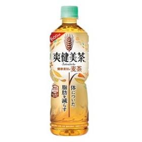 【全国送料無料】爽健美茶 健康素材の麦茶 600mlPET