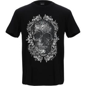 《期間限定セール開催中!》JUST CAVALLI メンズ T シャツ ブラック S コットン 100%
