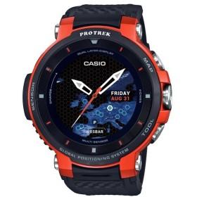 (国内正規品)(カシオ)CASIO 腕時計 WSD-F30-RG PROTREK(プロトレック) スマートアウトドアウォッチ メンズ オレンジ GPS タッチパネル(メール便不可)