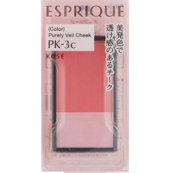 《コーセー》 エスプリーク ピュアリーベール チーク PK-3c ピンク系 3.3g