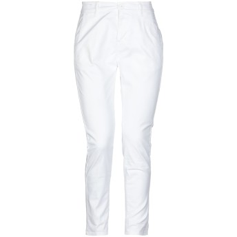 《セール開催中》BEVERLY HILLS POLO CLUB レディース パンツ ホワイト 26 コットン 98% / ポリウレタン 2%
