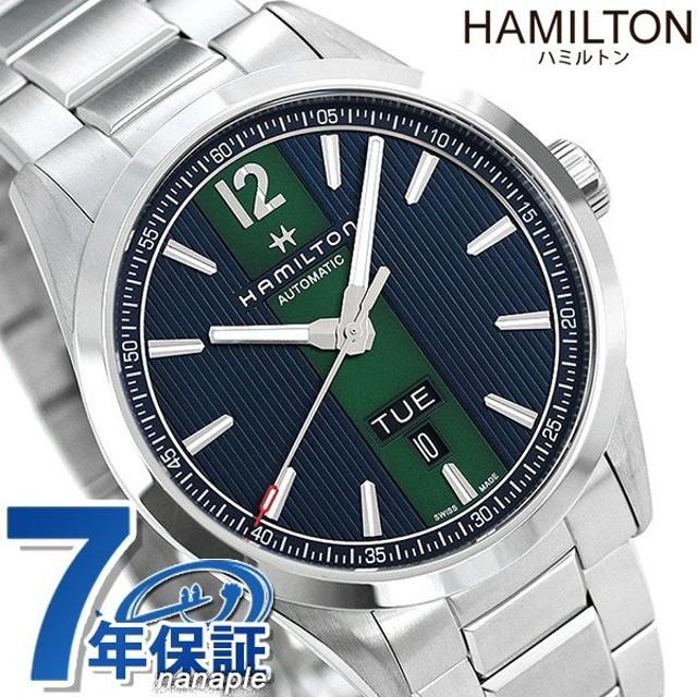 new product 42eed 0a994 ハミルトン 時計 ブロードウェイ デイデイト 自動巻き メンズ ...