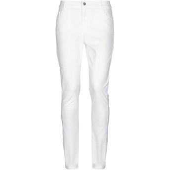 《セール開催中》SHOP ★ ART レディース パンツ ホワイト 26 コットン 98% / ポリウレタン 2%
