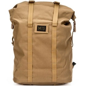 エムアイエス MIS Roll Up Backpack Coyote Brown