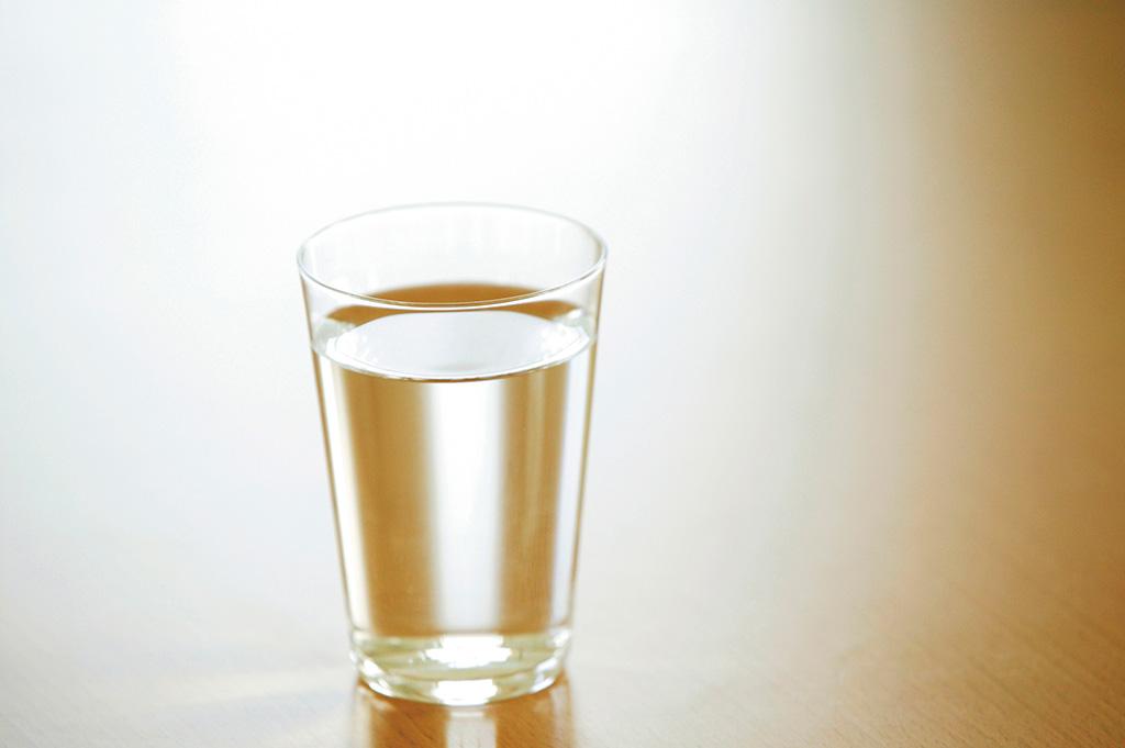 コップに入れた水