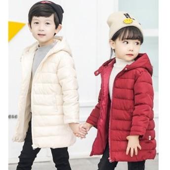 冬着子供服 可愛い キッズ 女の子 アウター 男の子コート ジャケット カーディガン 韓国風 厚手 防寒服 子供服コート 綿入れコート
