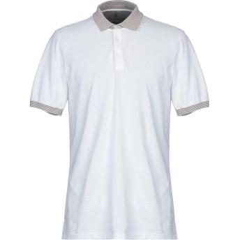 《期間限定セール開催中!》BRUNELLO CUCINELLI メンズ ポロシャツ ホワイト S コットン 100%