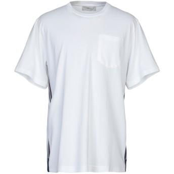 《期間限定セール開催中!》PRINGLE OF SCOTLAND メンズ T シャツ ホワイト S 100% コットン