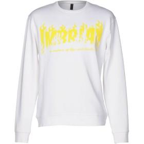 《セール開催中》IMB I'M BRIAN メンズ スウェットシャツ ホワイト M コットン 100%