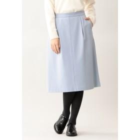 MACKINTOSH PHILOSOPHY 【ウォッシャブル】ブラッシュドツイル スカート その他 スカート,ライトブルー