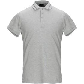《期間限定 セール開催中》DIESEL メンズ ポロシャツ ライトグレー S コットン 95% / ポリウレタン 5%