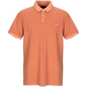 《期間限定セール開催中!》WOOLRICH メンズ ポロシャツ オレンジ XXL コットン 95% / ポリウレタン 5%