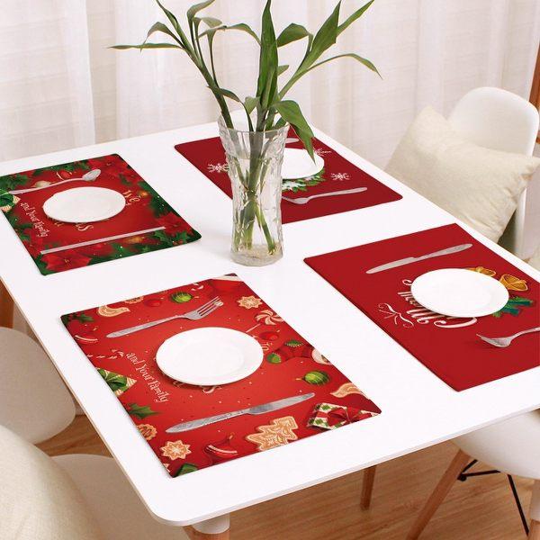 可愛時尚實用餐墊 盤墊 碗墊 聖誕餐墊31