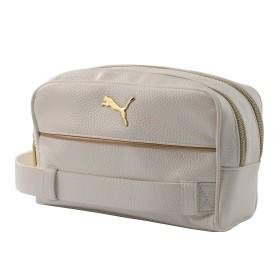 【プーマ公式通販】 プーマ ゴルフ マルチポーチ ヘリテージ メンズ Bright White / Gold  ACCESSORIES PUMA.com