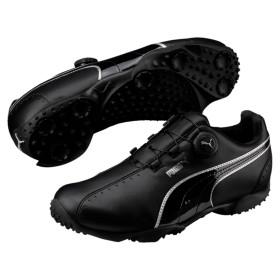 【プーマ公式通販】 プーマ ゴルフ エース スパイクレス ディスク メンズ Black-Black-Silver  SHOES PUMA.com