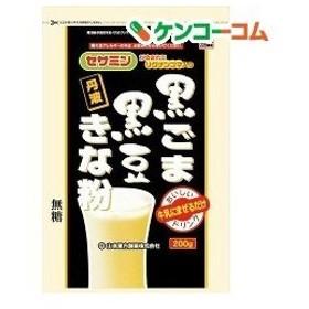 山本漢方 黒ごま 黒豆きな粉 ( 200g )/ 山本漢方