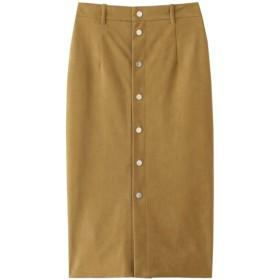 martinique マルティニーク スエードスカート キャメル