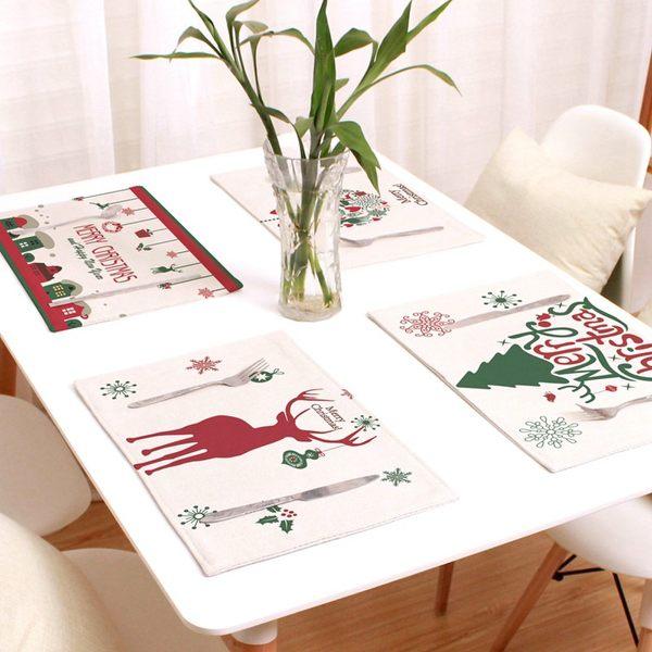 可愛時尚實用餐墊 盤墊 碗墊 聖誕餐墊32