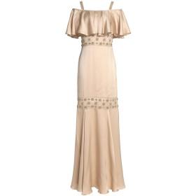 《セール開催中》TEMPERLEY LONDON レディース ロングワンピース&ドレス ベージュ 8 シルク 95% / ナイロン 5%