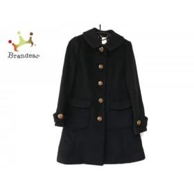 ドーリーガール DOLLY GIRL コート サイズ2 S レディース 黒 リボン/冬物          値下げ 20190312【人気】
