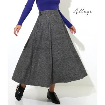 【セール開催中】ANAP(アナップ)シルク混ジャズネップフレアースカート